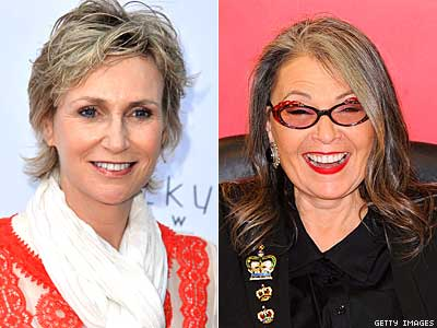 Jane Lynch Is Ready To Rip Roseanne Barr A New One