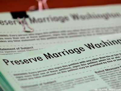 Anti-Marriage Initiative Won't Make Washington Ballot