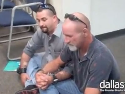 Gay Couple Arrested in Texas Marriage Protest