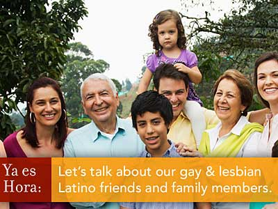 Latino Groups Come Out in Support of LGBT Family Members