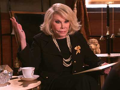 Joan Rivers 'Incredible' on Drop Dead Diva
