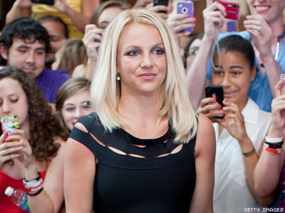 Britney Storms Off X FactorAfter Drag Impersonation