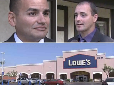 Gay Couple Report Verbal Abuse, Physical Threats at Calif. Lowe's