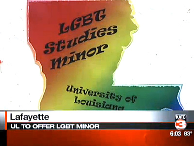 University of Louisiana at Lafayette Offers LGBT Minor