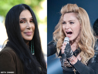 Madonna Fans Furious Over Cher's Tweets