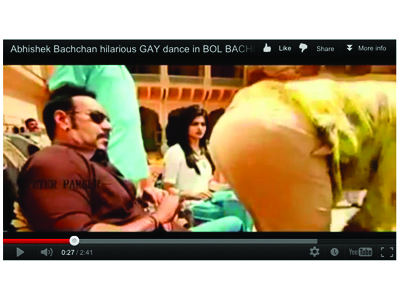 Bollywood homoseksuel video
