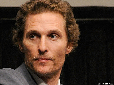 Matthew McConaughey Wants to Snuggle With Stephen Colbert