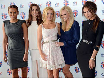 Spice Girls Reunite For Olympics Performance
