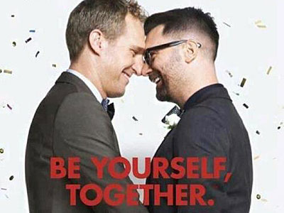 same sex marriage advertisement in Bedfordshire