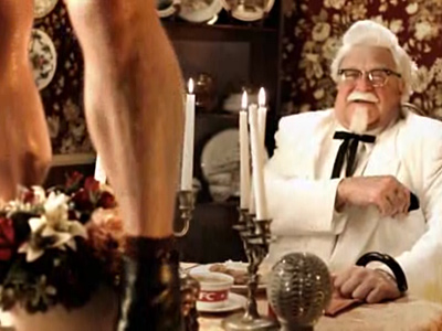 WATCH: Colonel Sanders Says KFC Loves Gay People