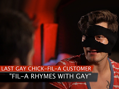 WATCH: Hilarious Last Gay Chick-fil-A Customer Sketch