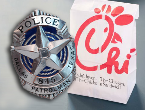 Dallas Officer Under Investigation For Chick-fil-A Intimidation