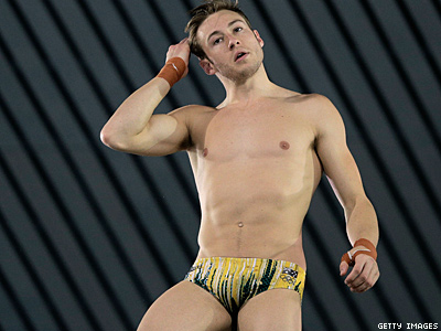 Matthew Mitcham Will Dive Naked If He Wins Gold Again
