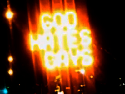 Detour to Hell? Road Sign Reads 'God Hates Gays'