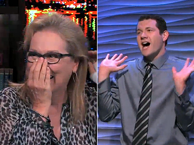 WATCH: Meryl Streep Meets Superfan Billy Eichner