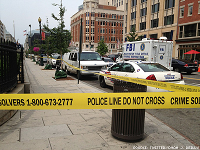 Family Research Council Guard Shot in D.C.