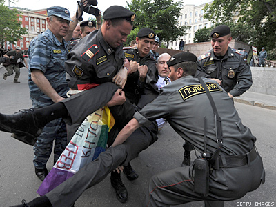 Moscow Court Upholds Ban on Gay Pride for Next Century