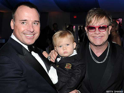 Elton John Says Life Will be Difficult for His Son
