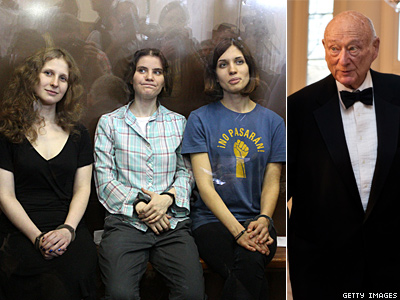 Ed Koch Opposes Pussy Riot's Actions, Compares Them to ACT UP