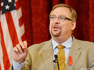 Rick Warren Cancels Presidential Forum, Says Religion Is Being Suppressed