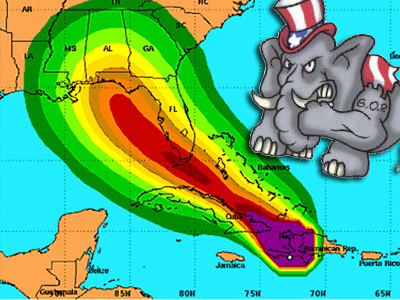 Isaac Already Stealing Romney's Thunder, Could Storm Cancel Convention?