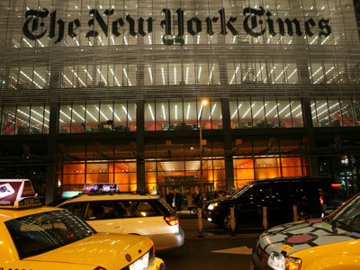 Public Editor Accuses New York Times of 'Progressive' Marriage Equality Bias