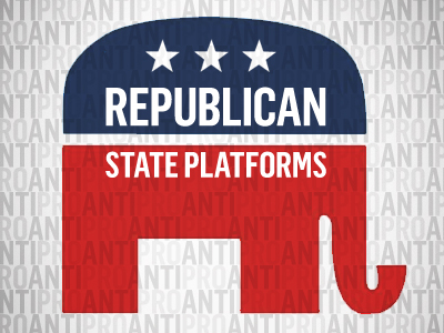 A Review of the Republican State Platforms Finds Widespread Antigay Bias