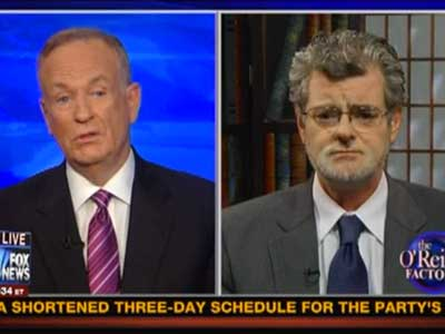 Bill O'Reilly Confused by the Difference Between Gays and Child Molesters