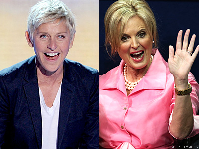 Ellen DeGeneres Wants to Be Roommates With Ann Romney