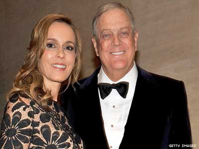Shocker: David Koch Supports Marriage Equality