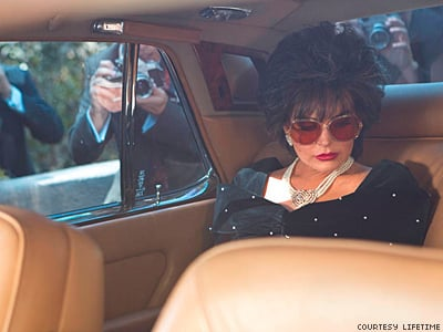 LOOK: New Photos Show Lindsay Lohan Convinces as Elizabeth Taylor