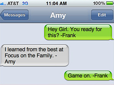 "Fight Back Colorado Launches ""Texts From Amy"""