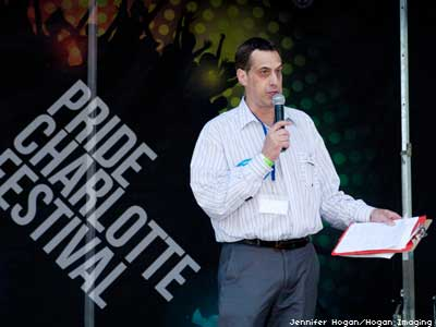 Stuart Milk Makes the Obama Case to North Carolina