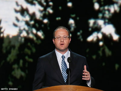Gay Congressman (and New Dad) Tells DNC About Power from Diversity
