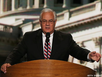 Barney Frank Scraps the Script in Romney Attack During DNC