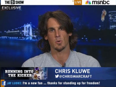 WATCH: Vikings' Chris Kluwe Discusses His Pro-Gay Letter
