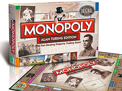Monopoly Board to Honor Gay Codebreaker Alan Turing