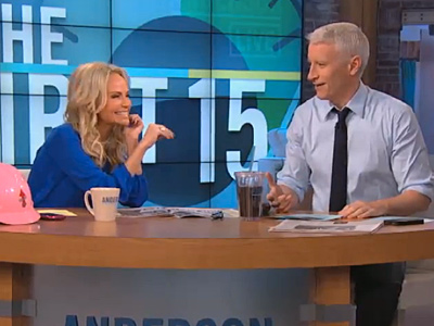 Anderson Cooper and Kristin Chenoweth on His Coming Out
