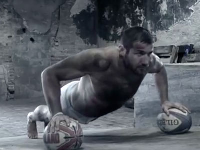 WATCH: Ben Cohen Strips for Charity Calendar Shoot