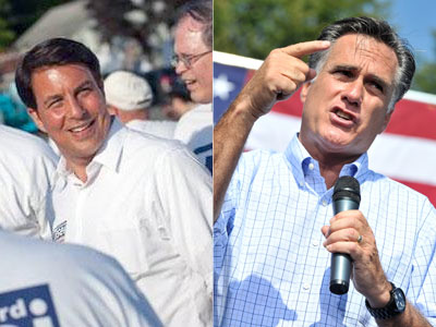Gay Republican Candidate Doesn't Want Romney's Platform in Romney's Home State