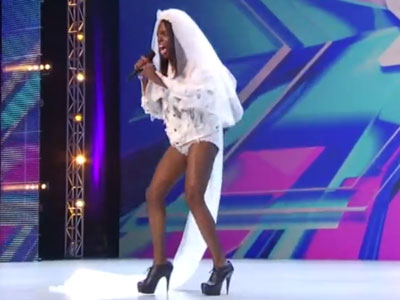 X Factor's Drag Contestant Performs Rousing 'Born This Way'