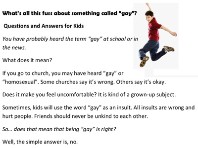 Right-Wing Group: Stop Bullying, But Don't Say Gay Is OK