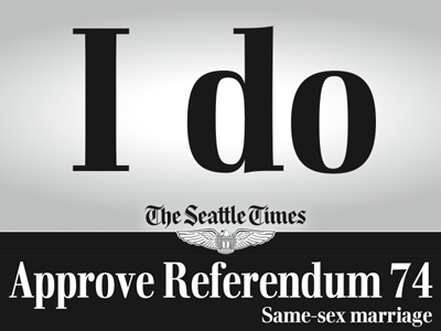 Four Washington Newspapers Endorse Marriage Equality