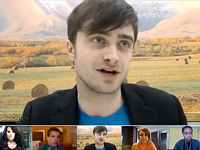 WATCH: Daniel Radcliffe's Chat with Trevor Project