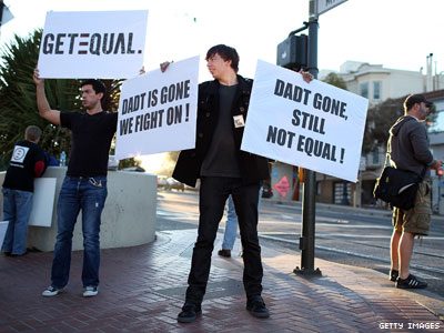 Op-ed: To Move Beyond DADT, Then Repeal DOMA