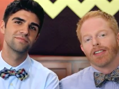 WATCH: Jesse Tyler Ferguson, Justin Mikita Announce Engagement