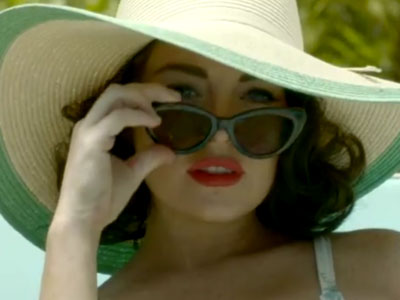 WATCH: Lindsay Lohan as Elizabeth Taylor