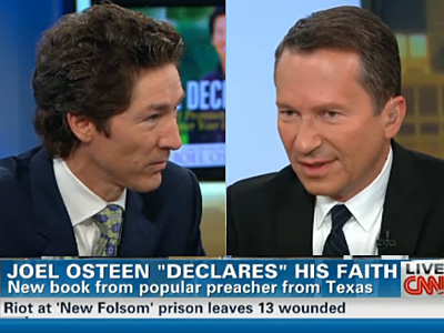 WATCH: Joel Osteen Didn't Choose to Be Straight, But Being Gay Is a Sin