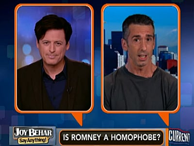 WATCH: Dan Savage Says Mitt Romney Is a Homophobe