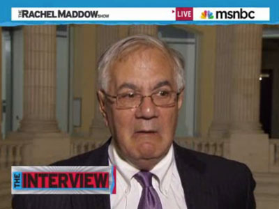 Barney Frank Taunts Opponents of DADT Repeal: 'Naah, Naah'